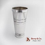 Arts and Crafts Pine Cone Wine Beaker David Anderson 1906 Danish 830 Standard Silver