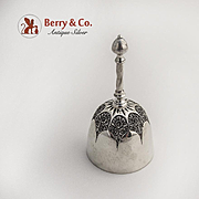 Ornate Tea Bell Sterling Silver Reed and Barton 1900