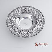 Repousse Bowl Sterling Silver Jacobi Jenkins 1910