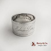 Aesthetic Napkin Ring Sterling Silver Gorham Silversmiths 1890