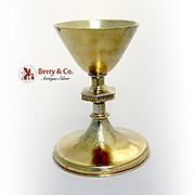 Vintage Chalice Sterling Silver Gild France 1930