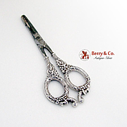 Vintage Grape Shears Sterling Silver Grape Handles