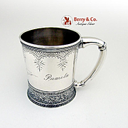 Aesthetic Cup Sterling Silver Gorham Silversmiths 1874