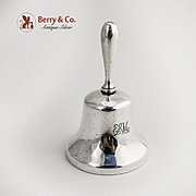 Tiffany and Company Dinner Bell Sterling Silver 1910