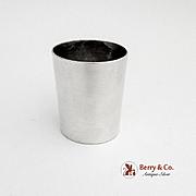 Vintage Shot Cup William Spratling Taxco Sterling Silver 1940