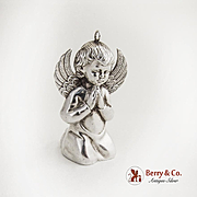 RM Trush Angel Christmas Ornament Sterling Silver 1972