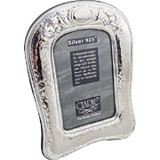 Greek Sterling Silver Picture Frame