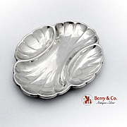 Frank Smith Tri Part Shell Dish Sterling Silver