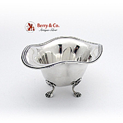 Towle Deep Footed Bowl Lions Paw Feet Sterling Silver