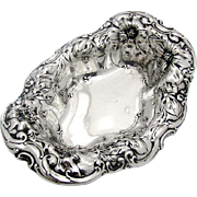 Gorham Poppy Bowl Sterling Silver Date Mark 1902
