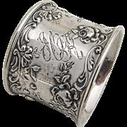 Gorham Rose Napkin Ring Sterling Silver