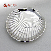 Gorham Shell Bon Bon Dish Bowl Ball Footed 42677 Sterling Silver