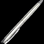 Vintage Ball Pen Hallmark Sterling Silver 1980