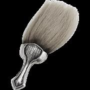 Floral Scroll Brush Soft Bristles Webster Sterling Silver 1910
