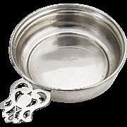 Vintage Porringer Baby Feeding Bowl Webster Sterling Silver 1940