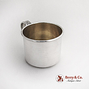 Prelude Baby Cup Gilt Interior No Mono International Sterling Silver