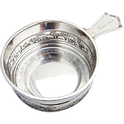 Noahs Ark Porringer Tab Handle Inscribed Gorham Sterling Silver