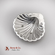 Vintage Shell Form Dish S Kirk And Son Sterling Silver