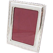 Vintage Italian Rectangular Picture Frame Sterling Silver
