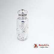 Aesthetic Hammered Shaker Engraved Dragonfly Dominick And Haff Sterling Silver