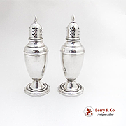Courtship Salt Pepper Shakers International Sterling Silver 1936