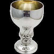 Large Swedish Beaker Gilt Interior 830 Standard Silver Stockholm 1919