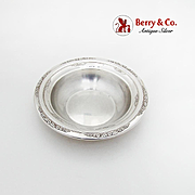 Courtship Candy Bowl International Silver Co Sterling Silver 1936
