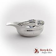 Georgian Pap Boat Sterling Silver London 1809