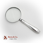 Tiffany Co Colonial Magnifying Glass Sterling Silver Handle 1895