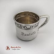 Strasbourg Childs Cup Gorham Sterling Silver 1897