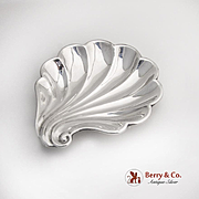 Stylized Shell Bowl Frank Smith Sterling Silver 1940