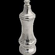 Tiffany Co Sterling Silver Pepper Grinder