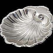 Vintage Shell Bowl Gorham Sterling Silver 1950s