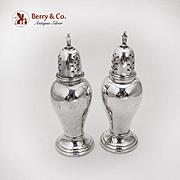 Lord Saybrook Salt Pepper Shakers International Sterling Silver 1940