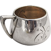 Celeste Baby Childs Cup Gilt Interior Sterling Silver 1956