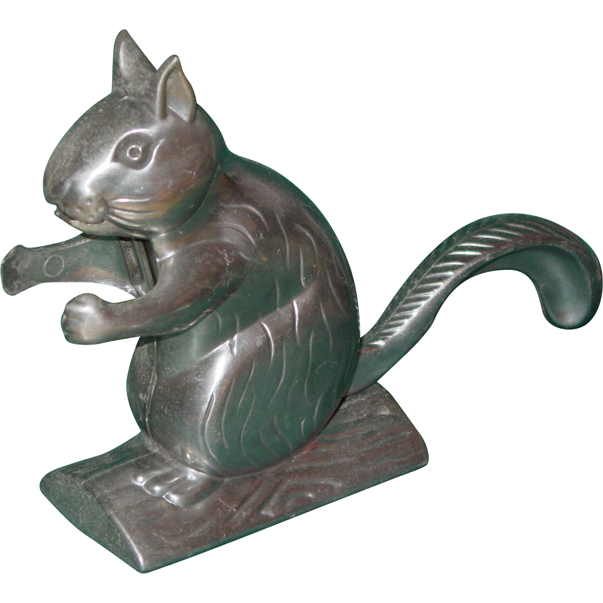 Vintage Cast Aluminum Squirrel Nut Cracker 1950s Works Great Sold On Ruby Lane