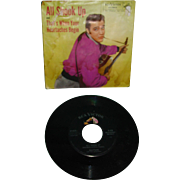 Elvis Presley 45 Rpm Record 1957 All Shook Up Original Picture Sleeve RCA 47-6870