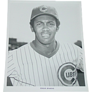 Chicago Cubs 1969 Ferguson Jenkins Fergie Baseball Original Press Photograph MLB 8X10 BW