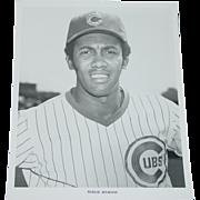 Chicago Cubs 1969 Ferguson Jenkins Fergie Baseball Original Press Photograph MLB 8X10 BW