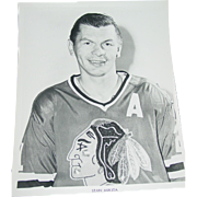 1971 Stan Mikita Photo Chicago Blackhawks Hockey NHL 8X10 BW Original Press Team Issue