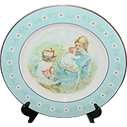 Vintage Avon 1974 Tenderness Plate Representative Award Pontessa Spain Original Box