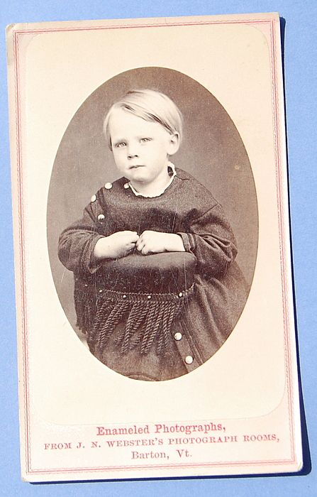 Victorian Cabinet Card Child