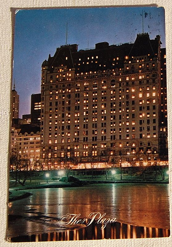 Vintage Postcard The Plaza New York City