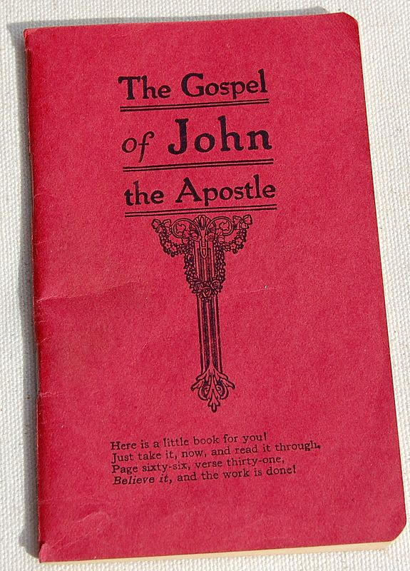 1950 The Gospel Of John The Apostle