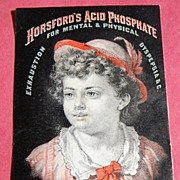Trade Card Horsford's Acid Phosphate