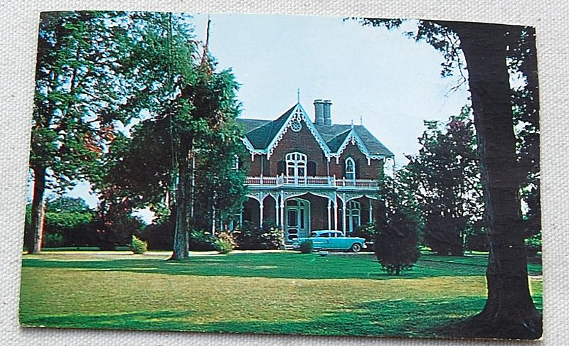 1964 Postcard Cedarhurst Holly Spring Mississippi