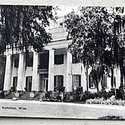 Vintage Postcard D'Evereux Natchez Mississippi