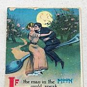 1912 Embossed Romantic Post Card