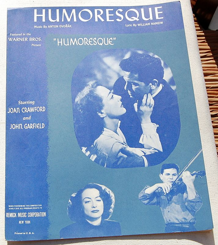 "Vintage 1946 Sheet Music ""Humoresque"""