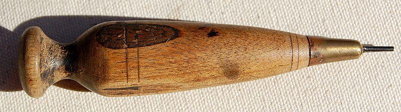 Vintage Wooden Awe Tool